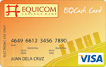 Equicom Cash Card