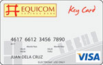 Equicom Savings Bank Key Card