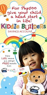 Kiddie Builders Savings Account