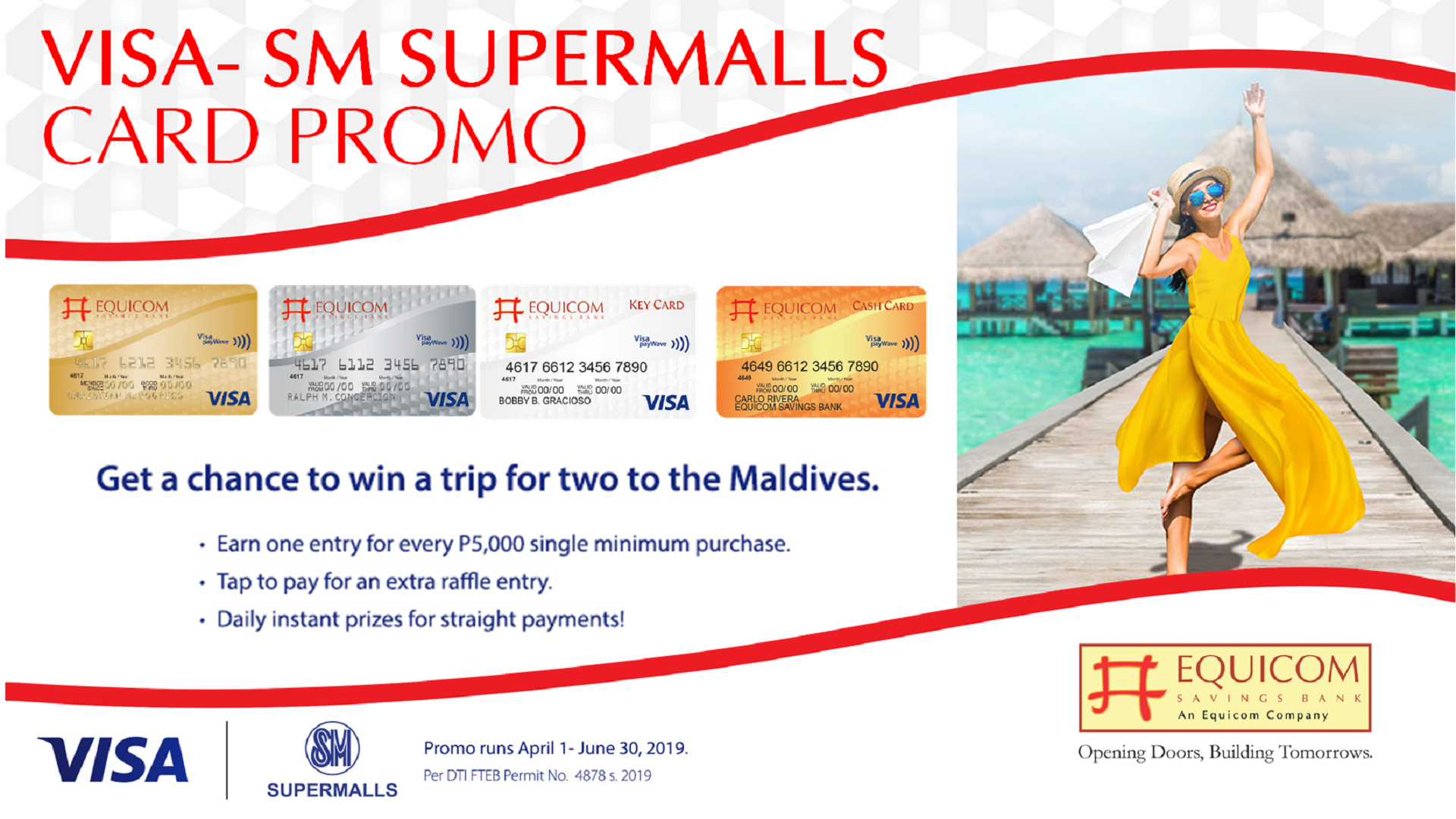 Win A Maldives Getaway from VISA